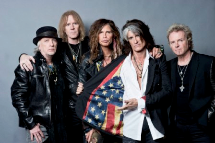 FREE Aerosmith concert in Boston. Featured online, and on AXS TV as well.