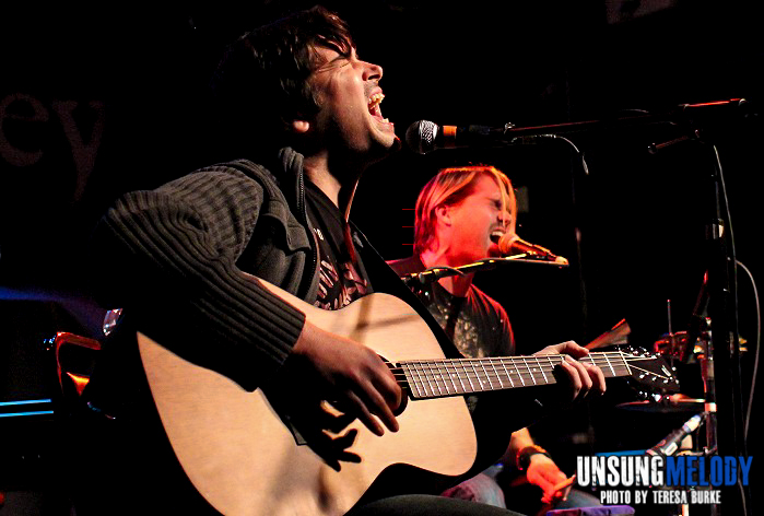 Aranda. Live and acoustic at The Abbey Pub in Chicago.