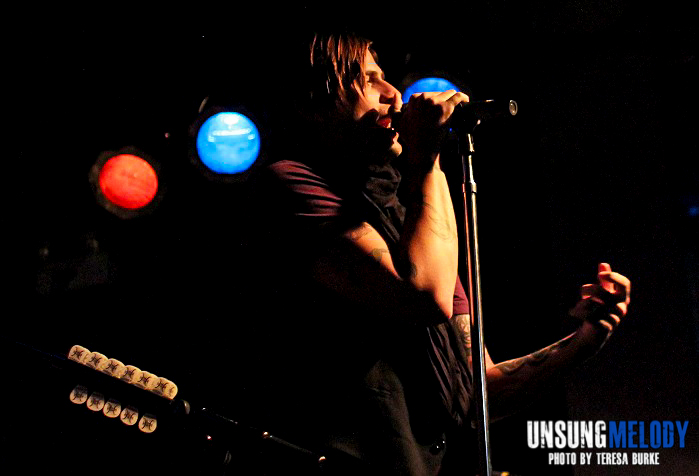 Hinder. Live and acoustic in Chicago at The Abbey Pub.