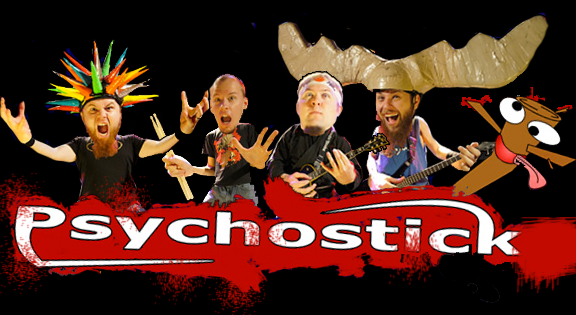 Beyonce, Dogs, Socks, and Frosting. An interview with Josh K from Psychostick.