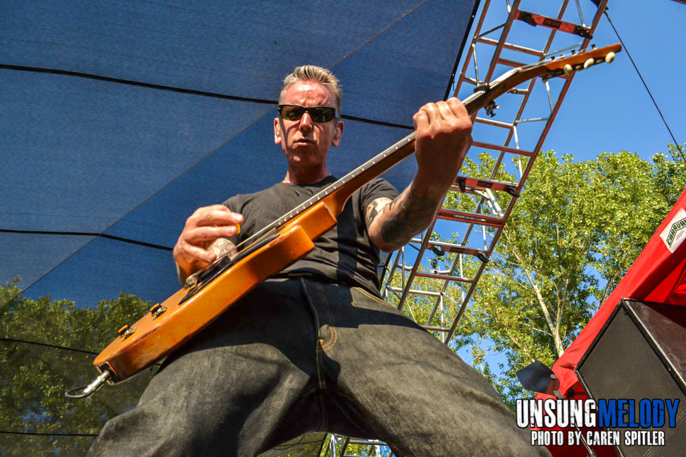 Social Distortion at The Hootenanny Festival in Silverado Canyon, CA