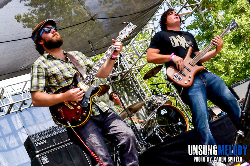 The Wheeler Brothers at The Hootenanny Festival in Silverado Canyon, CA