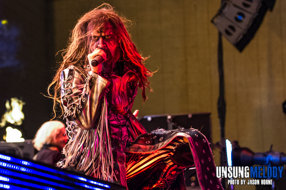 Mayhem Festival 2013: Rob Zombie at the Klipsch Music Center in Noblesville, IN