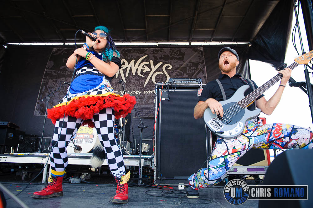 Beebs and Her Money Makers at Warped Tour 2014