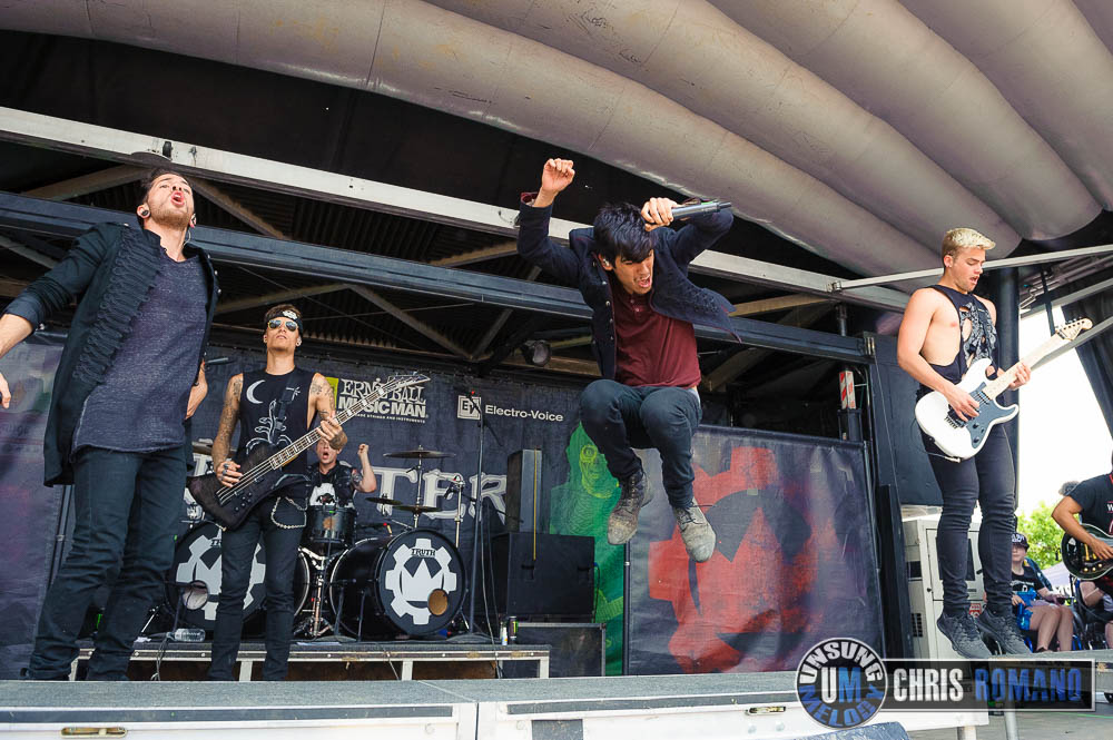 Crown the Empire at Wapred Tour 2014