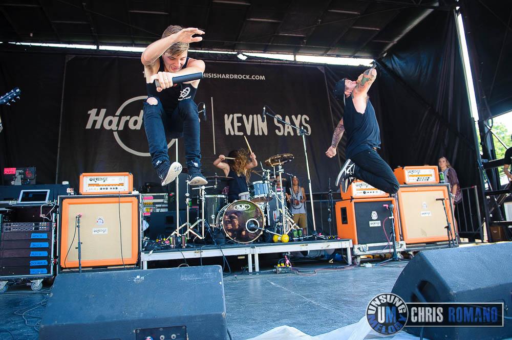 Vans Warped Tour 2014: Dangerkids at the Vans Warped Tour in Scranton, PA