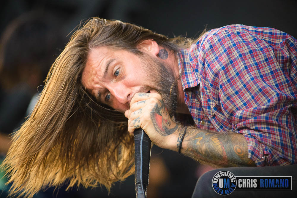 Every Time I Die at Warped Tour 2014