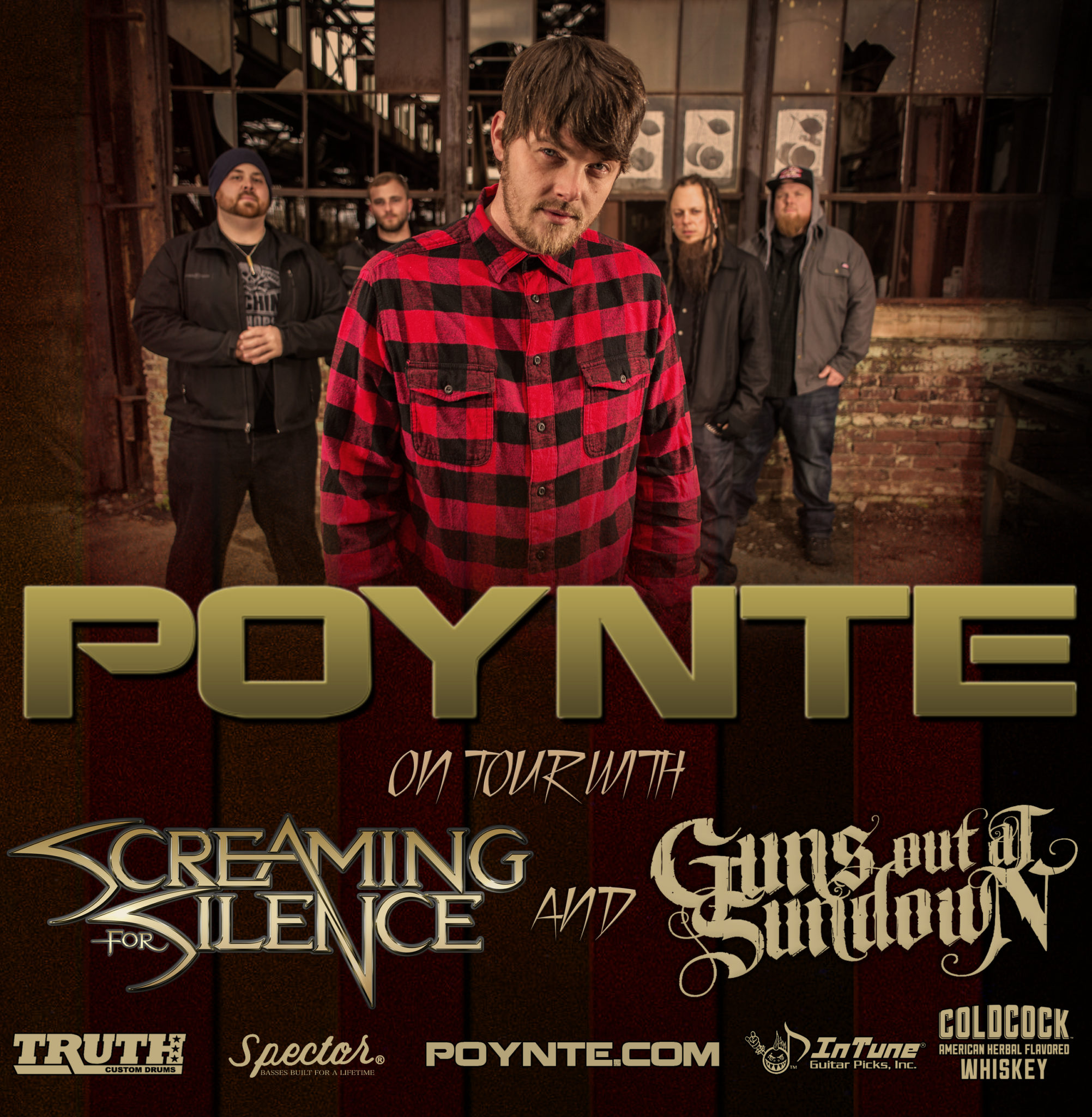 "POYNTE Announces Tour With Screaming For Silence and Guns Out At Sundown. Teases New Video For ""Take Control""."