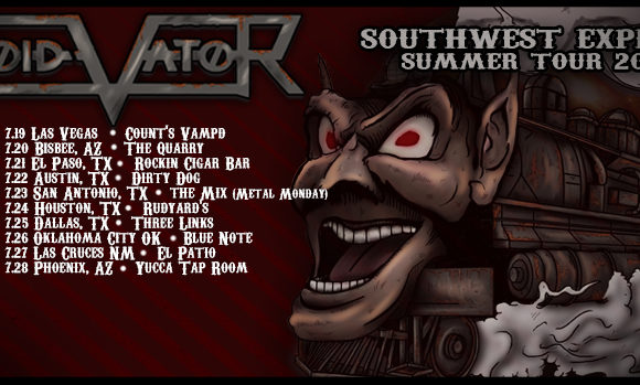"""VOID VATOR Release Official Music Video for """"UNTIL IT'S GONE"""" & Announce SOUTHWEST EXPRESS SUMMER 2018 TOUR"""