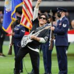 """NEAL SCHON Electrifies Fans with Epic """"Star Spangled Banner"""" Performance at Las Vegas Raiders vs Chicago Bears NFL Game!"""
